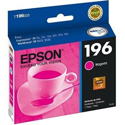 CARTUCHO EPSON T196320BR Nº 196 MAGENTA
