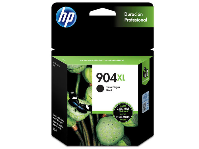 CARTUCHO HP T6M16AB Nº 904XL PRETO 21,5ML