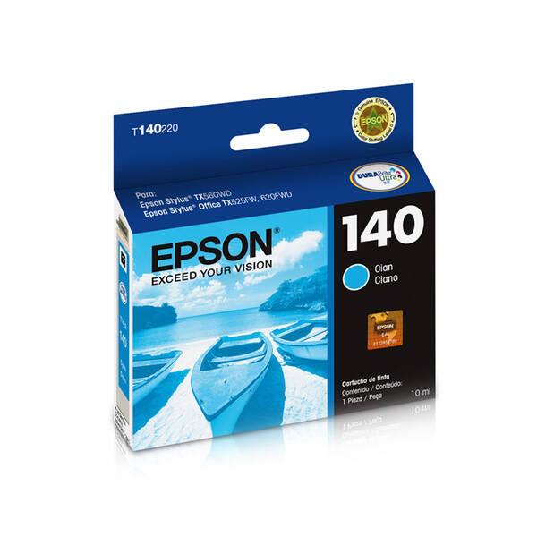 CARTUCHO EPSON T140220AL Nº 140 CYAN 10ML