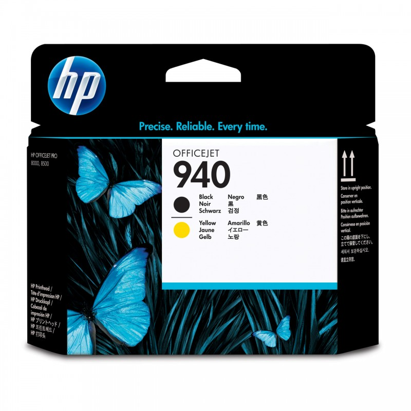 CABECA HP C4900A Nº 940 PRETO/YELLOW