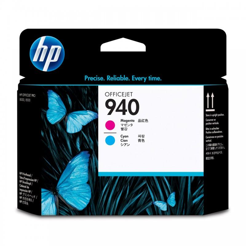 CABECA HP C4901A Nº 940 MAGENTA/CYAN