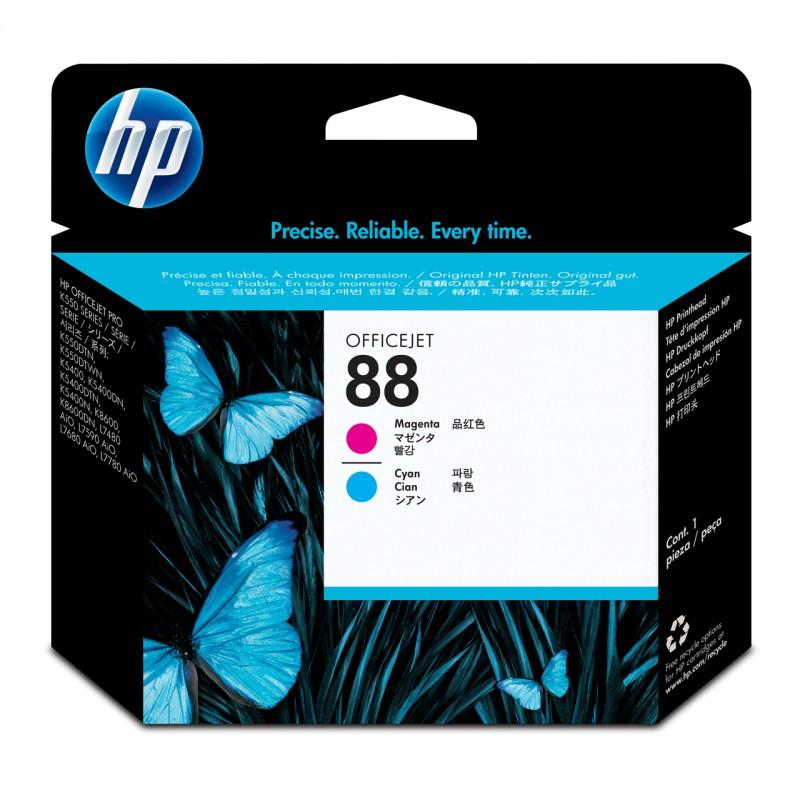 CABECA HP C9382A Nº 88 CYAN/MAGENTA
