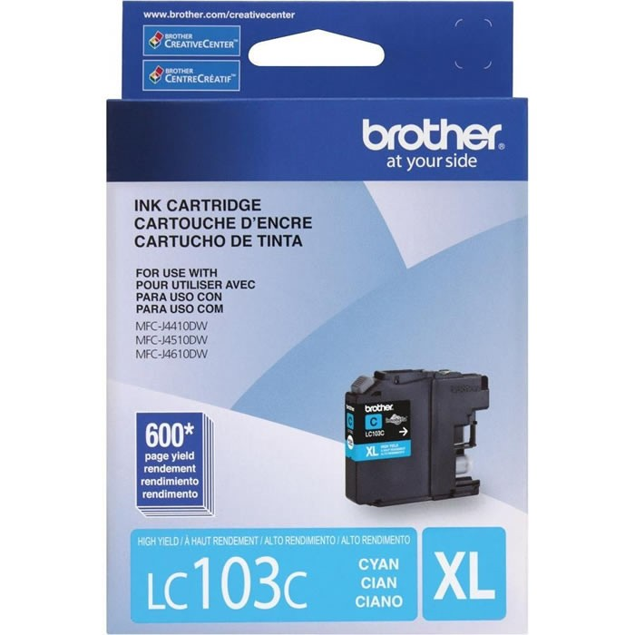CARTUCHO BROTHER LC103C CYAN