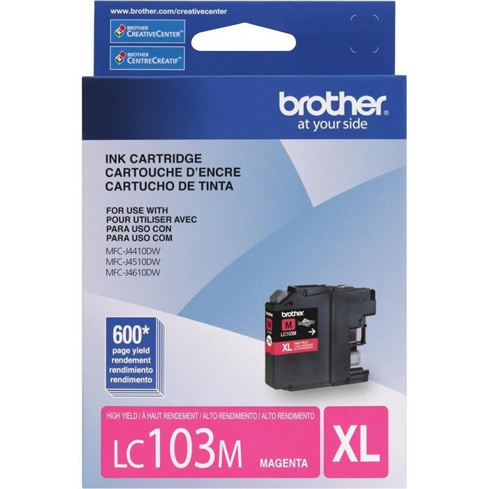 CARTUCHO BROTHER LC103M MAGENTA