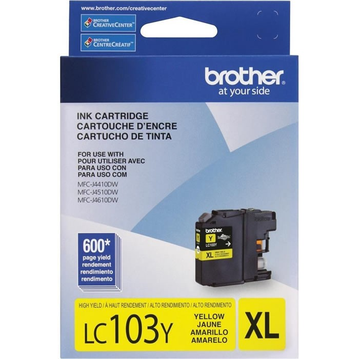 CARTUCHO BROTHER LC103Y YELLOW