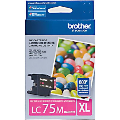 CARTUCHO BROTHER LC75M MAGENTA