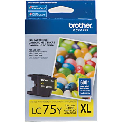 CARTUCHO BROTHER LC75Y YELLOW