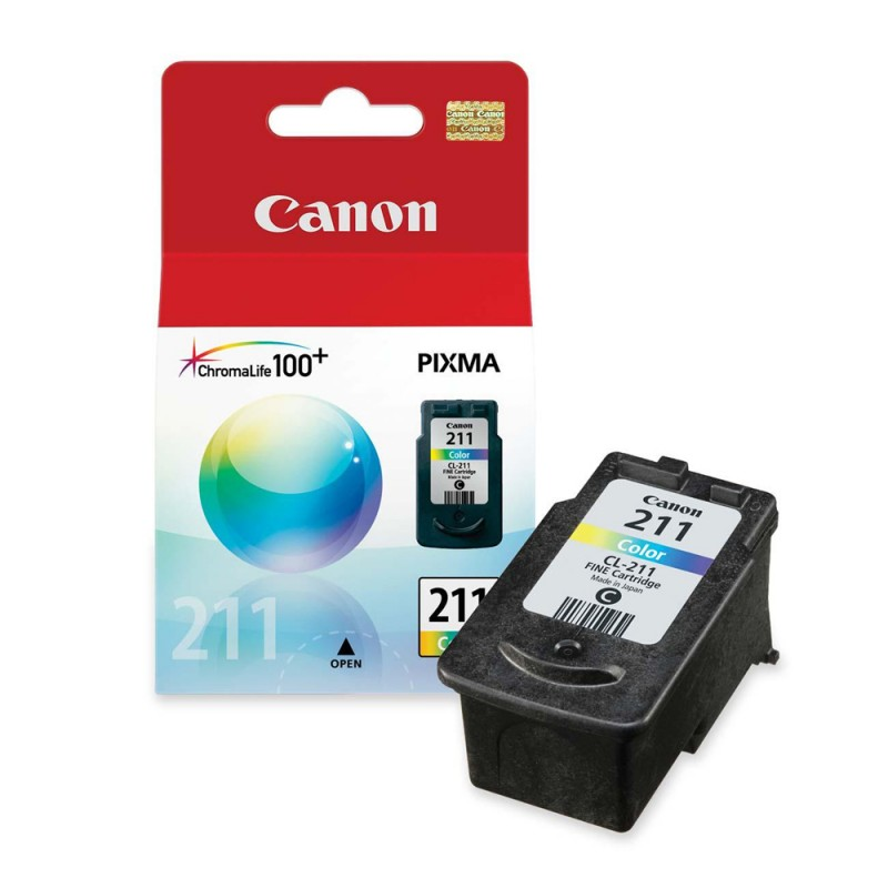 CARTUCHO CANON CL-211 COLOR 9ML