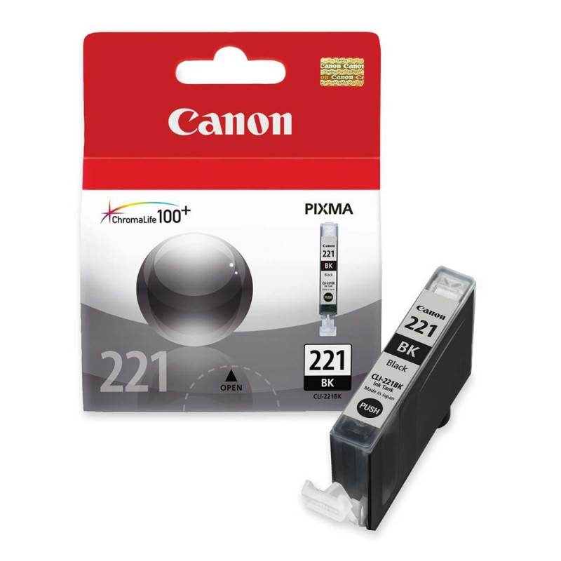 CARTUCHO CANON CLI-221 BK 9ML
