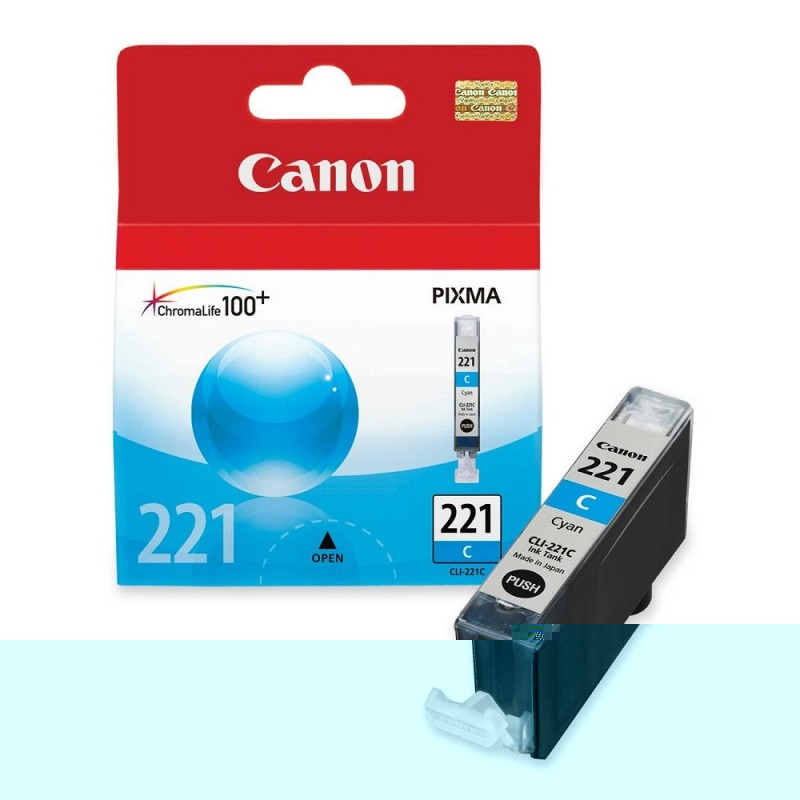 CARTUCHO CANON CLI-221 CYAN 9ML