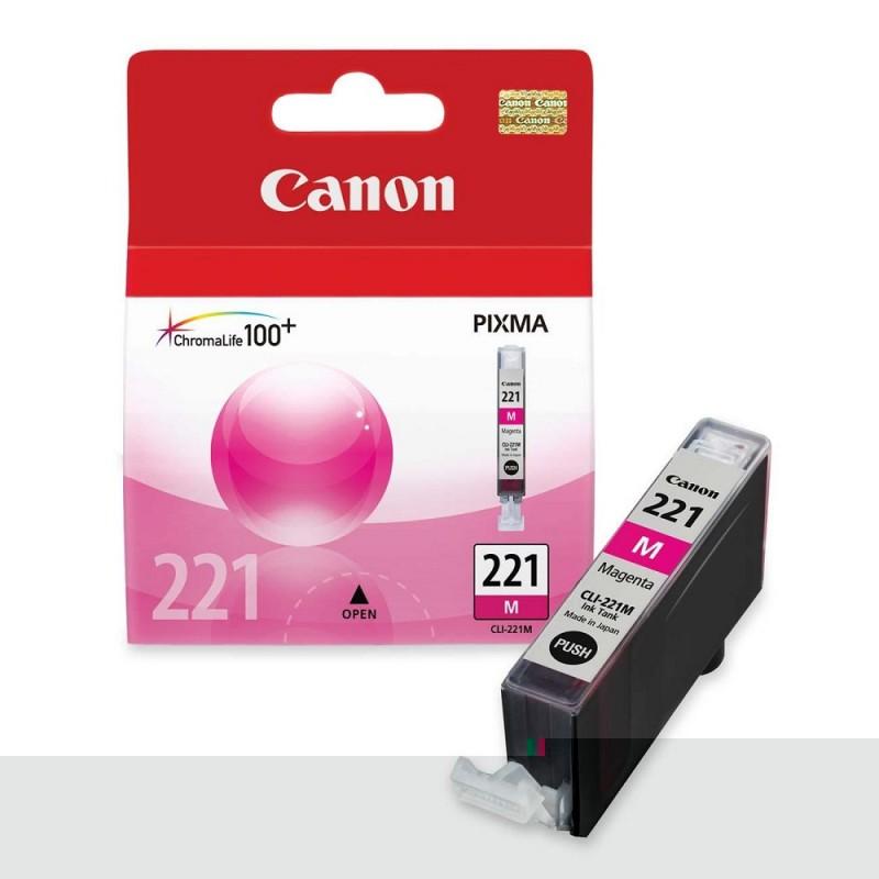 CARTUCHO CANON CLI-221 MAGENTA 9ML
