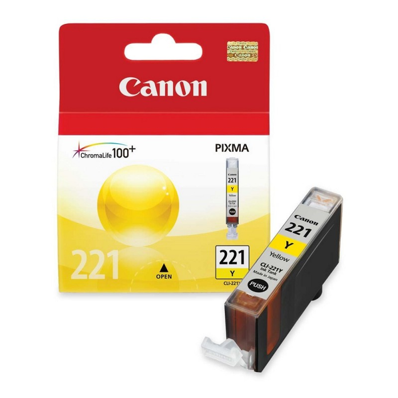 CARTUCHO CANON CLI-221 YELLOW 9ML