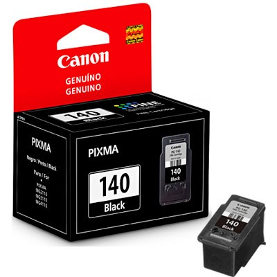 CARTUCHO CANON PG-140 PRETO 8ML