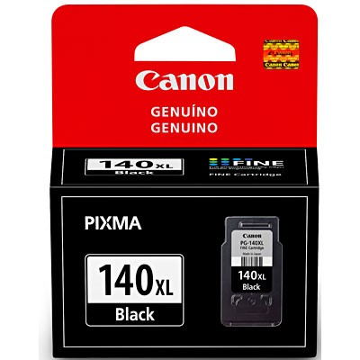 CARTUCHO CANON PG-140XL PRETO 11ML