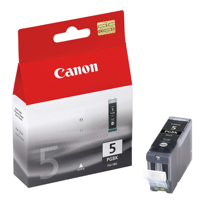 CARTUCHO CANON PGI-5 BLACK 26ML