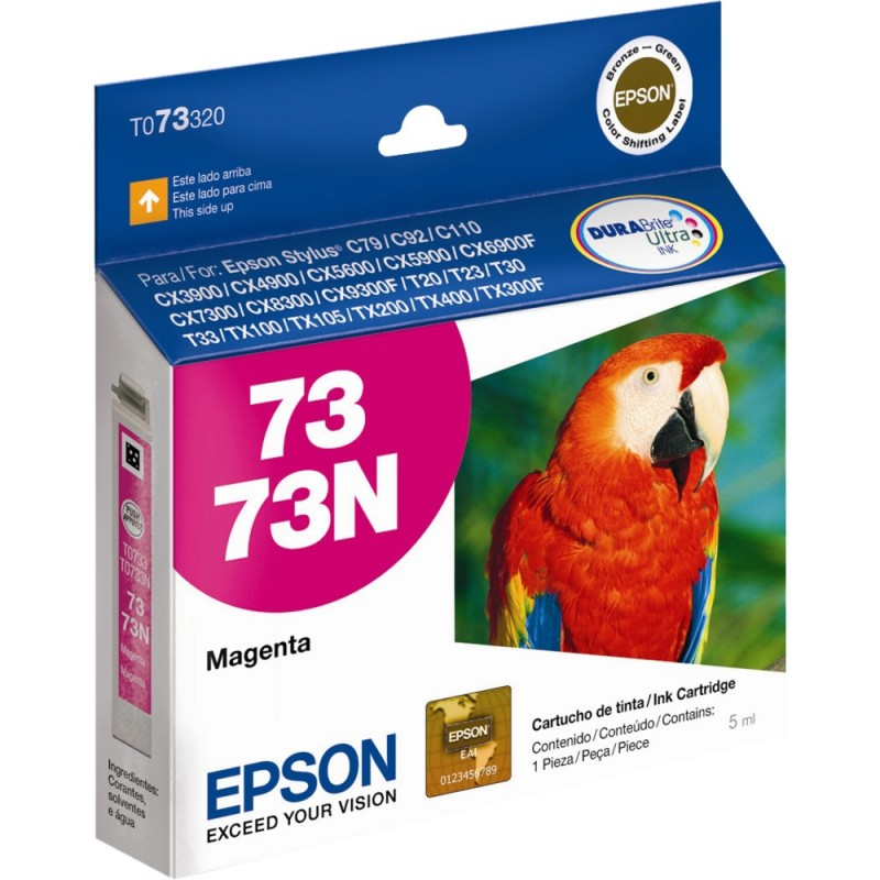 CARTUCHO EPSON T073320 Nº 73 MAGENTA 5ML
