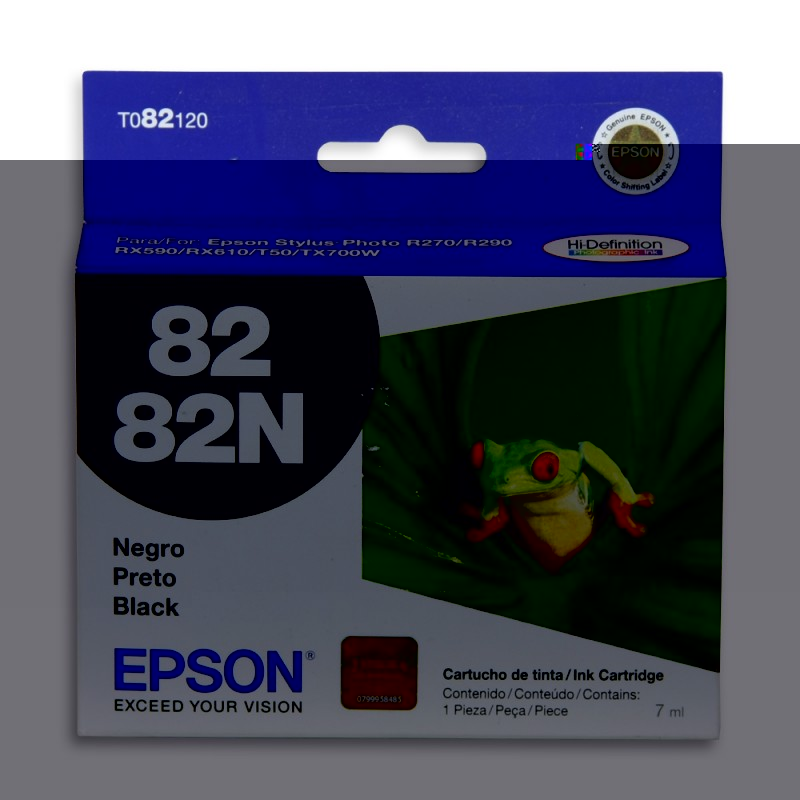 CARTUCHO EPSON T082120 Nº 82 BK 7ML