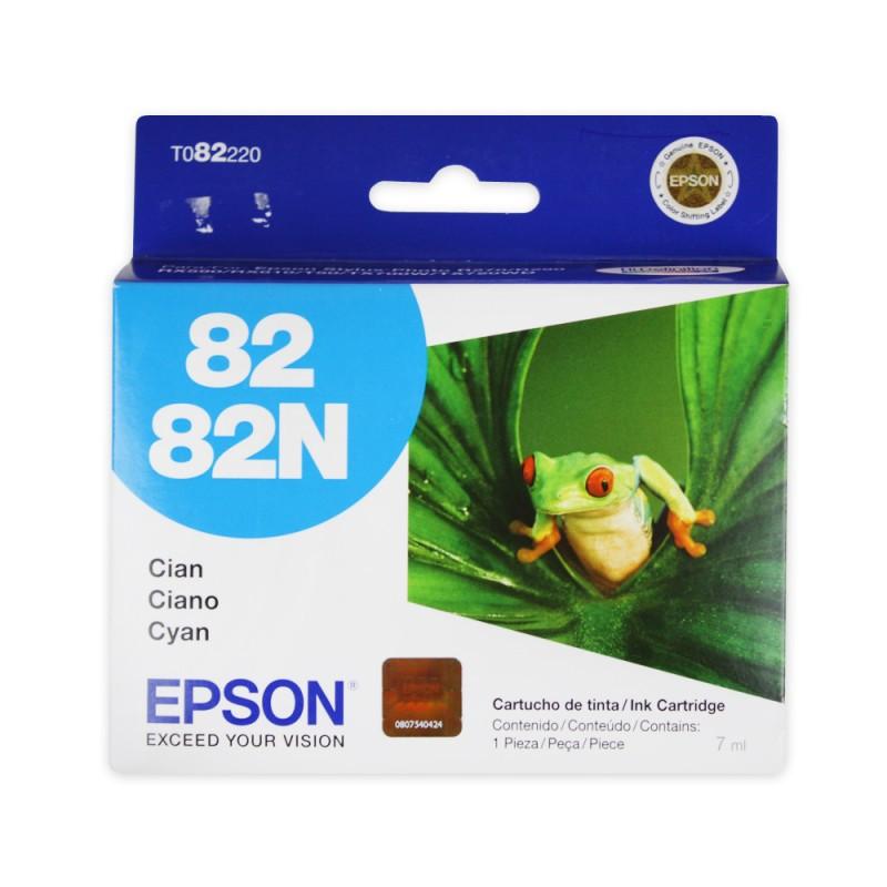 CARTUCHO EPSON T082220 Nº 82 CYAN 7ML