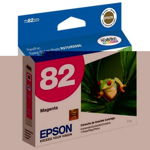 CARTUCHO EPSON T082320 Nº 82 MAGENTA 7ML