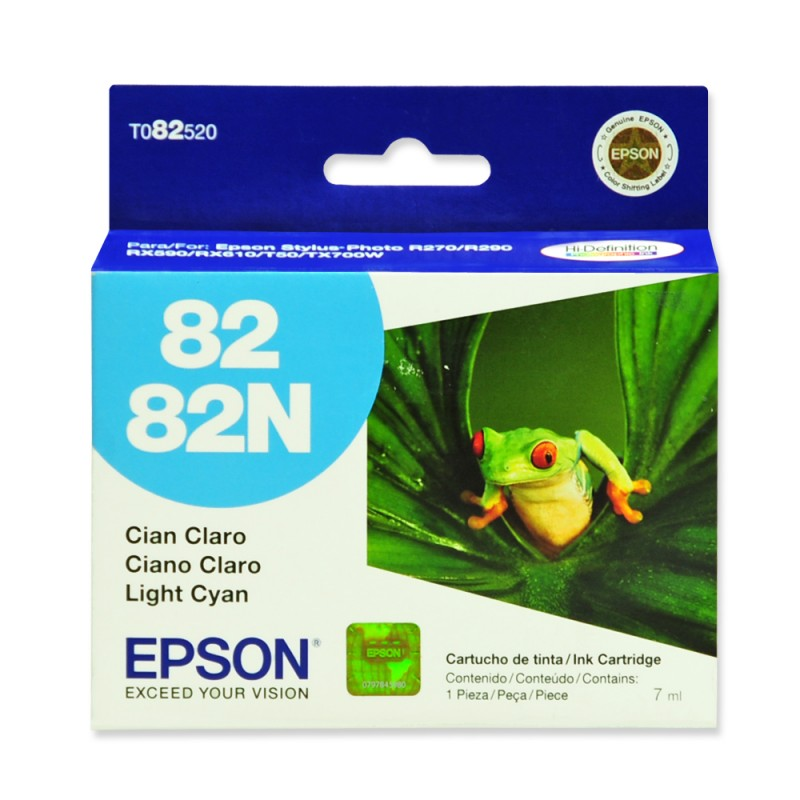 CARTUCHO EPSON T082520 Nº 82 CYAN LIGHT 7ML