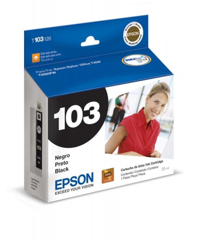 CARTUCHO EPSON T103120 PRETO 25ML