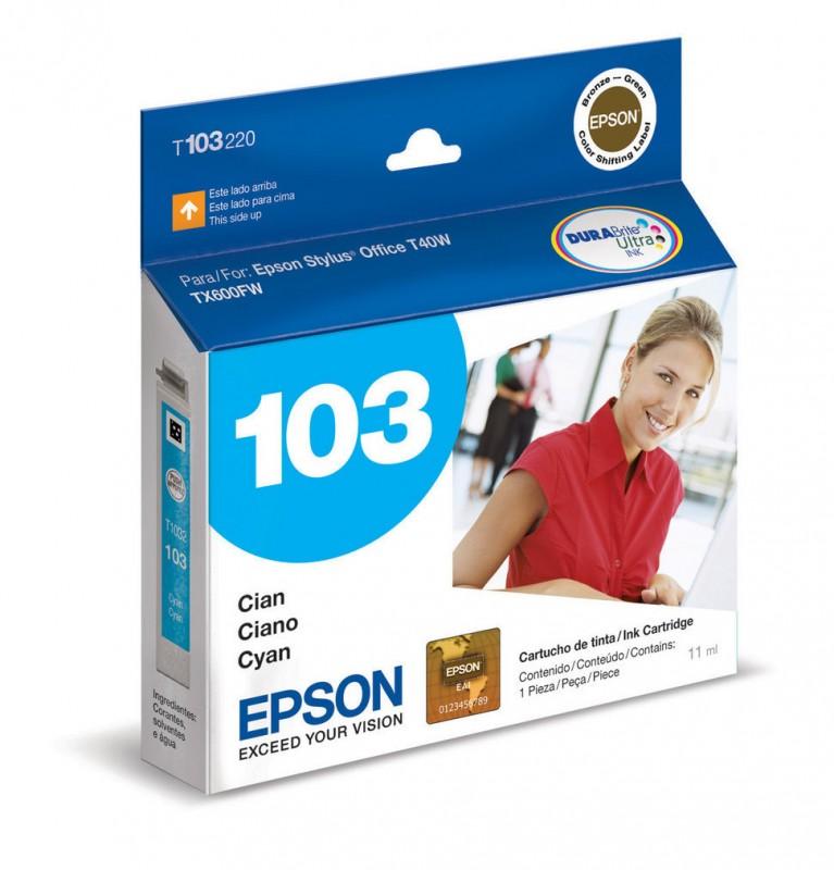 CARTUCHO EPSON T103220 CYAN 11ML