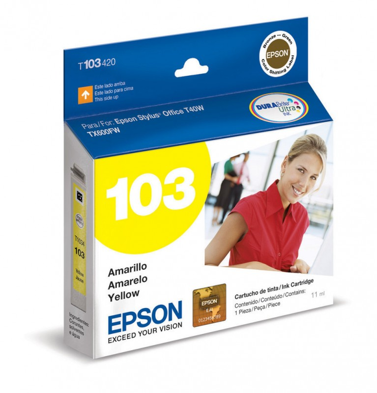 CARTUCHO EPSON T103420 YELLOW 11ML
