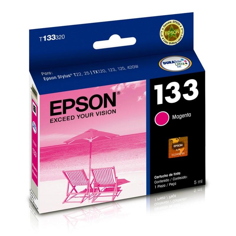 CARTUCHO EPSON T133320 Nº 133 MAGENTA 5ML