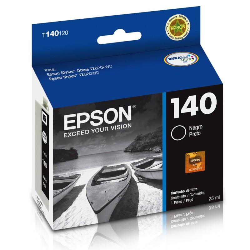 CARTUCHO EPSON T140120AL Nº 140 BK 25ML