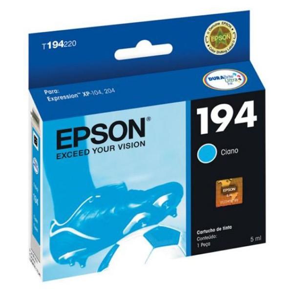 CARTUCHO EPSON T194220BR Nº 194 Cyan