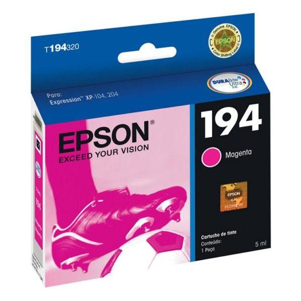 CARTUCHO EPSON T194320BR Nº 194 MAGENTA