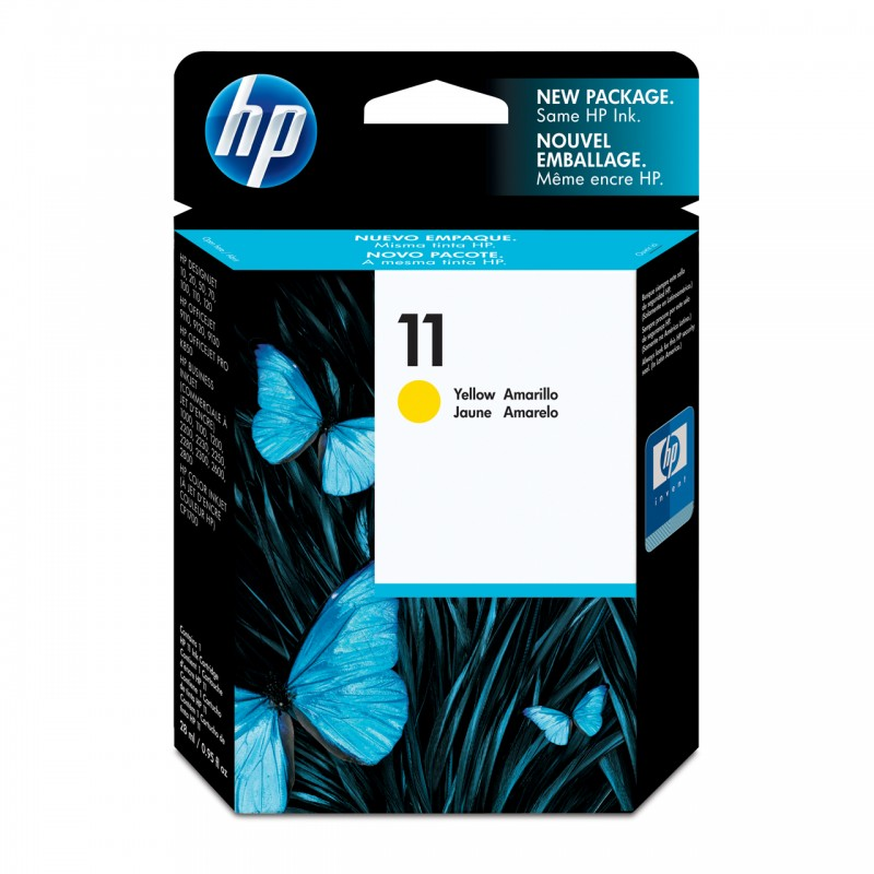 CARTUCHO HP C4838AL No 11 YELLOW 28ML