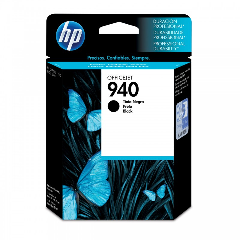 CARTUCHO HP C4902AL No 940 PRETO 28ML