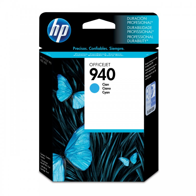 CARTUCHO HP C4903AL No 940 CYAN 10ML