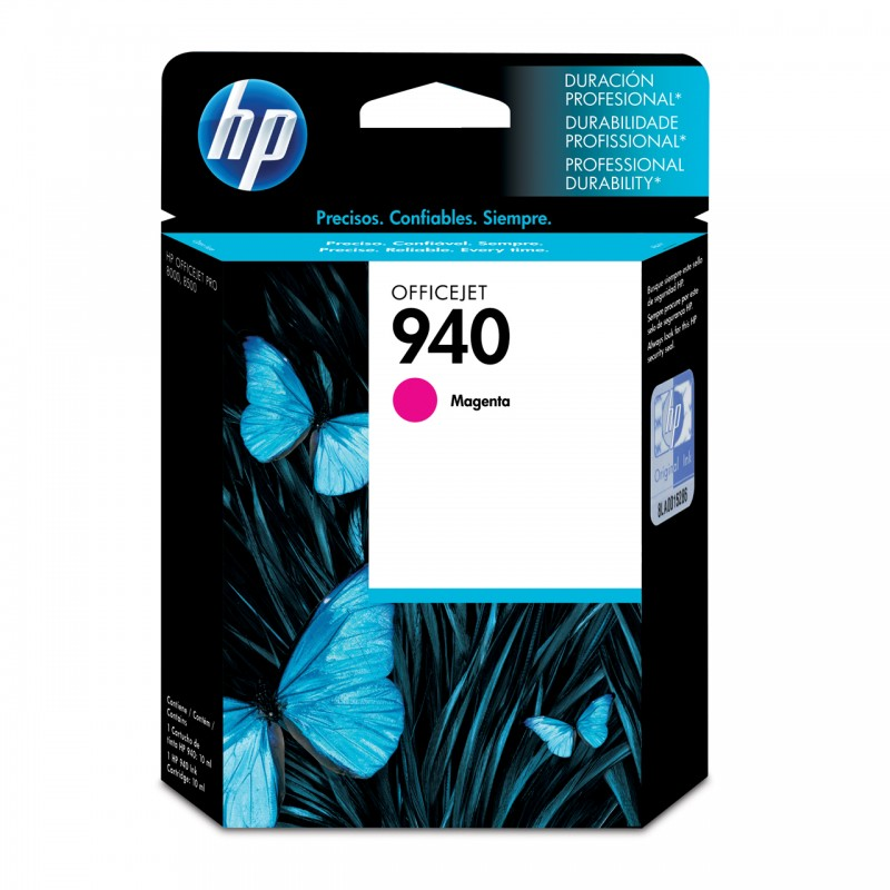 CARTUCHO HP C4904AL No 940 MAGENTA 10ML