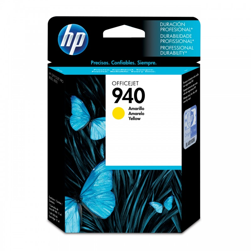 CARTUCHO HP C4905AL No 940 YELLOW 10ML