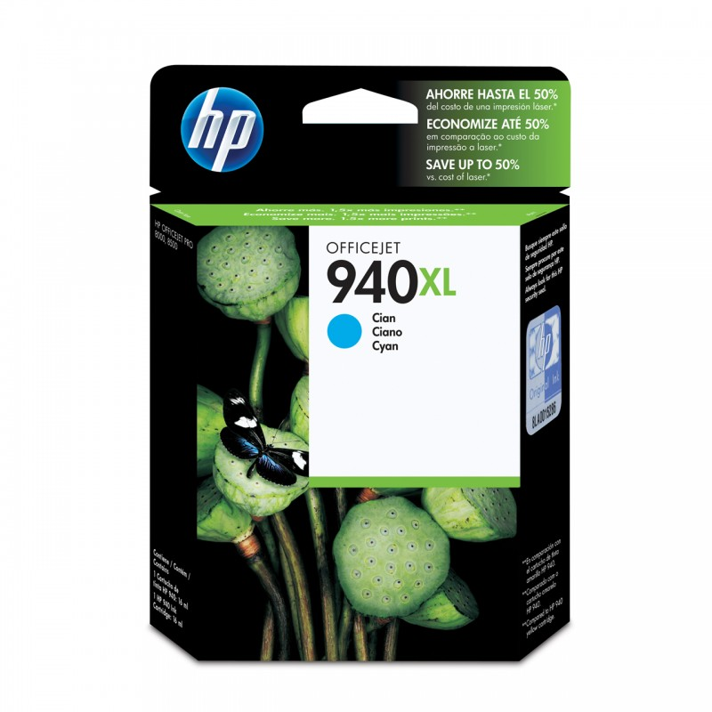 CARTUCHO HP C4907AL No 940XL CYAN 19ML
