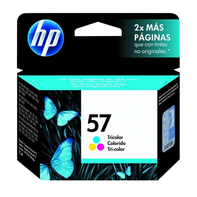CARTUCHO HP C6657AL No 57 COLOR 18ML
