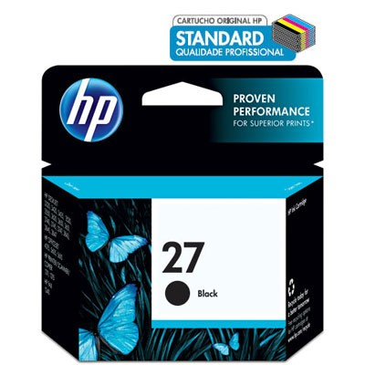 CARTUCHO HP C8727AL No 27 PRETO 11ML