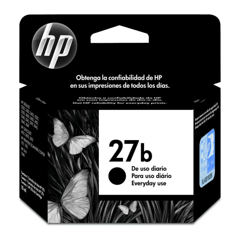 CARTUCHO HP C8727BB EVERYDAY Nº 27B PRETO 10ML