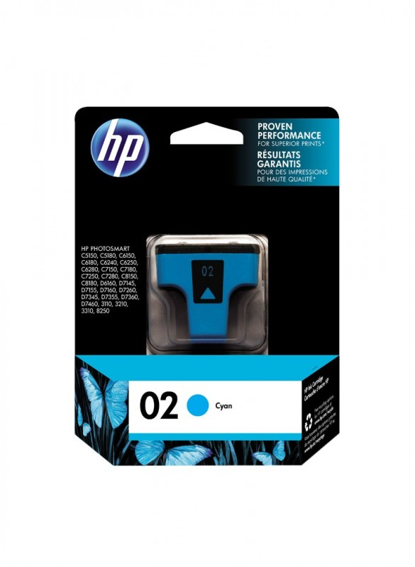 CARTUCHO HP C8771WL No 02 CYAN 4ML