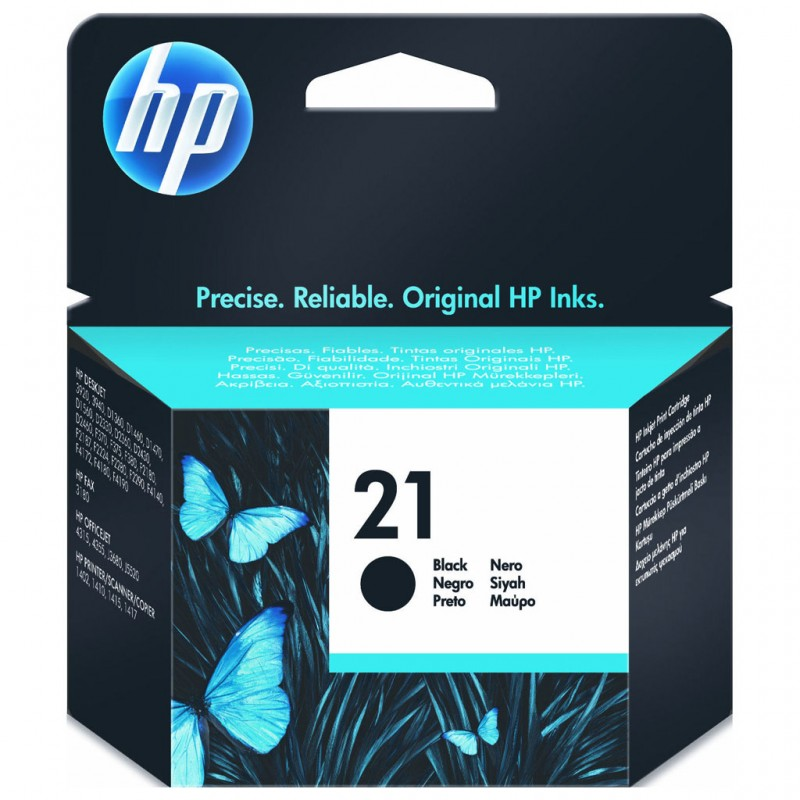 CARTUCHO HP C9351AL No 21 PRETO 7ML