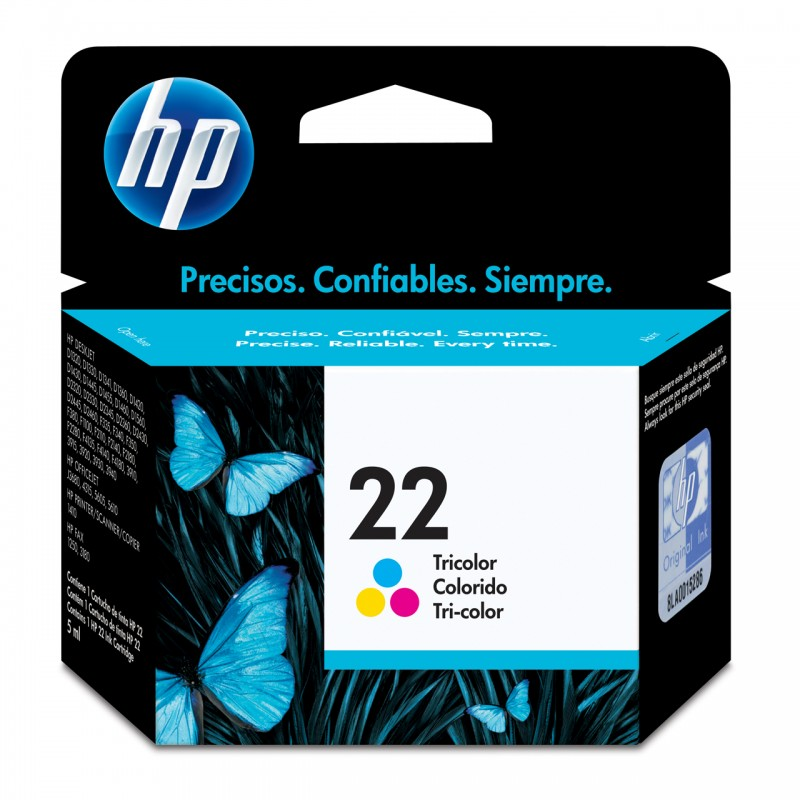 CARTUCHO HP C9352AB No 22 COLOR 6ML