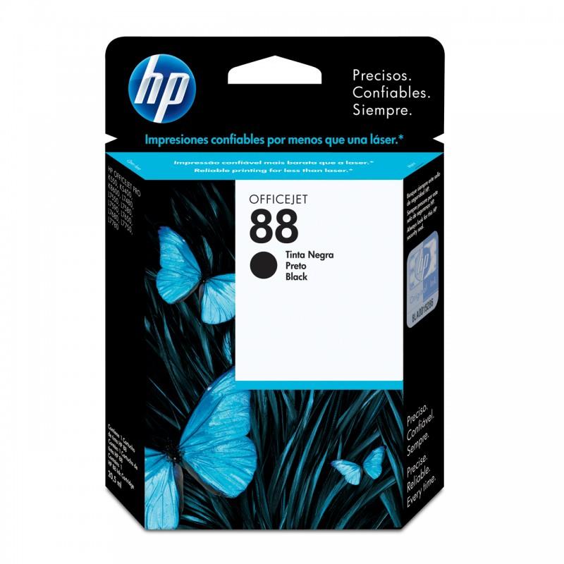 CARTUCHO HP C9385AL Nº 88 PRETO 24,5ML