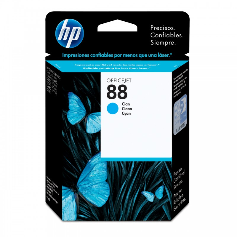 CARTUCHO HP C9386AL No 88 CYAN 13ML