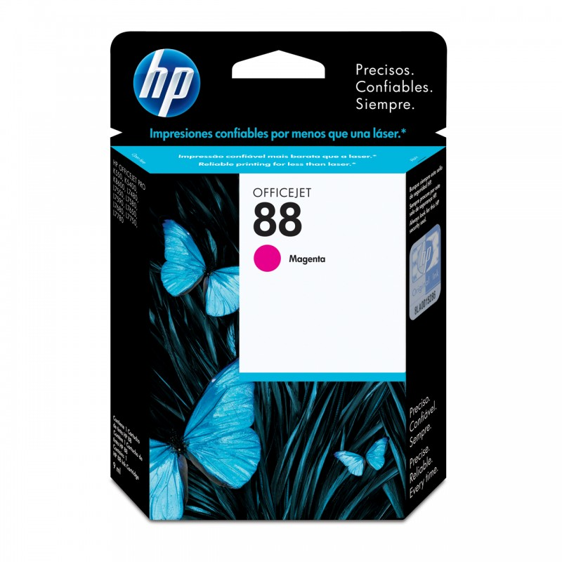 CARTUCHO HP C9387AL No 88 MAGENTA 13ML