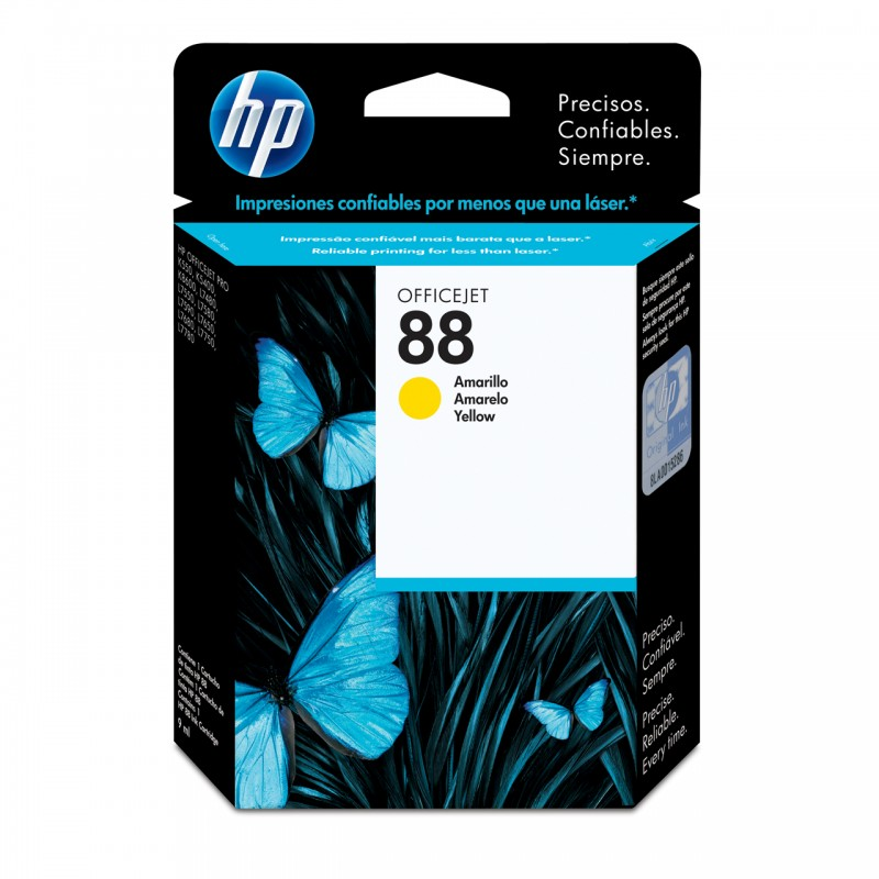 CARTUCHO HP C9388AL No 88 YELLOW 13ML