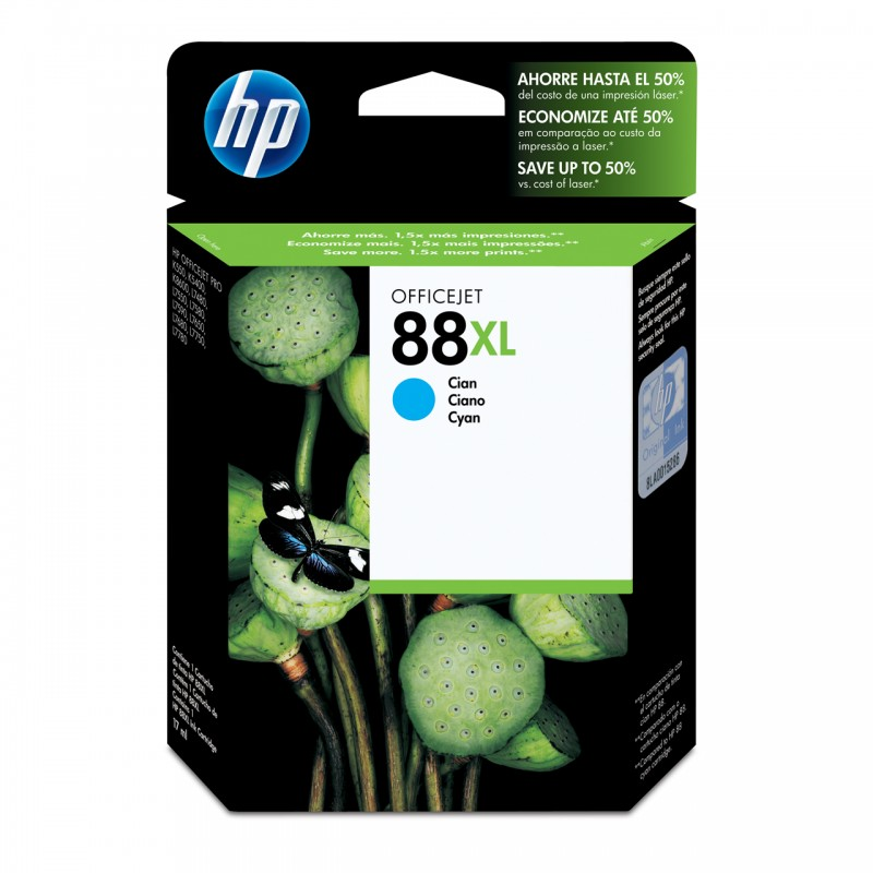 CARTUCHO HP C9391AL No 88XL CYAN 22,5ML