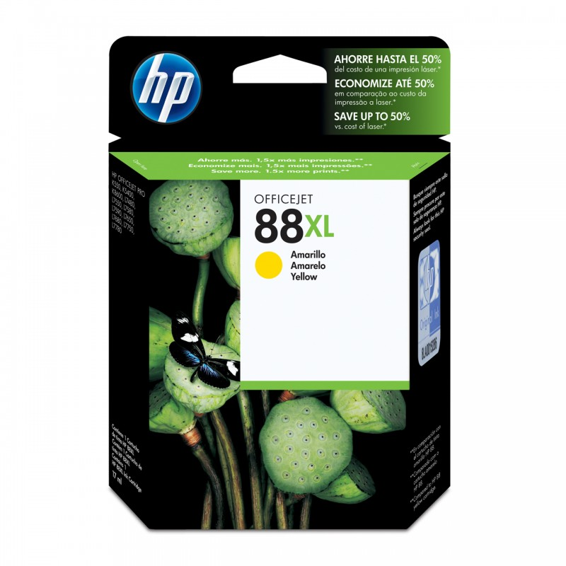 CARTUCHO HP C9393AL No 88XL YELLOW 21ML