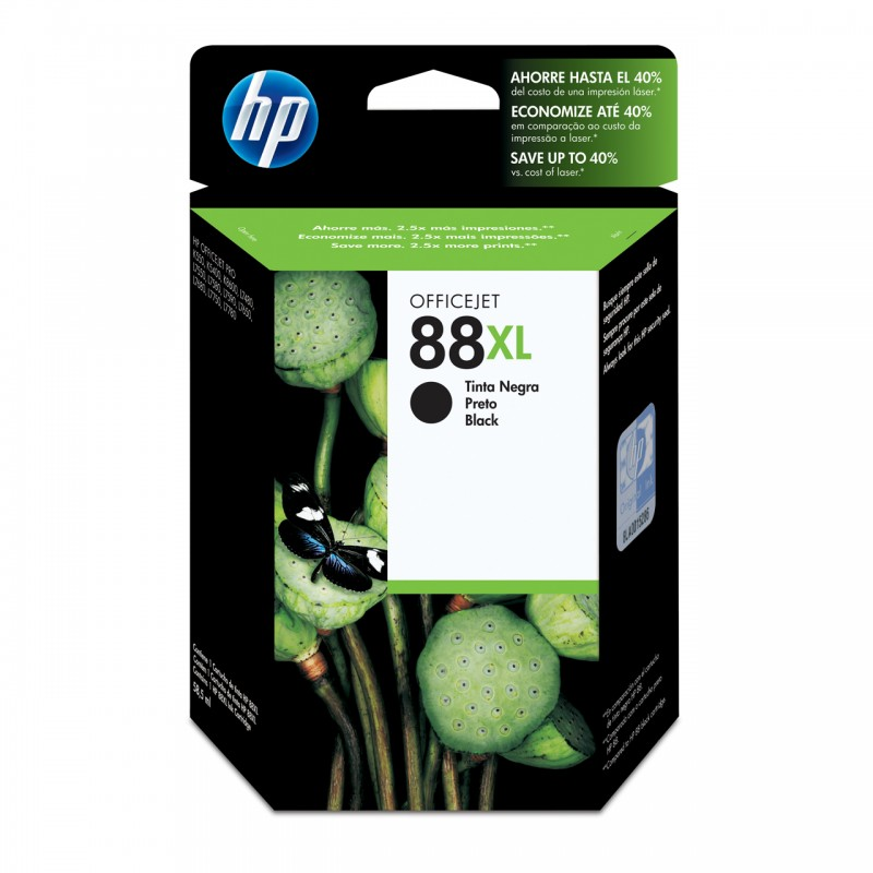 CARTUCHO HP C9396AL Nº 88XL PRETO 65,5ML